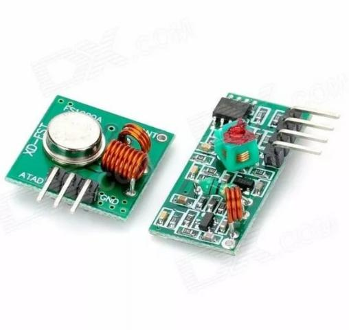 Módulo Rf Transmissor Receptor 433mhz Am Rx Tx - Foto 3