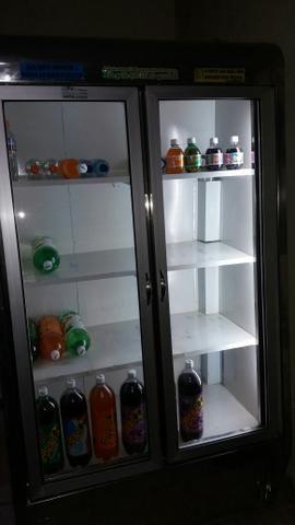 Freezer expositor duas portas