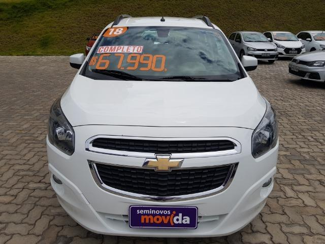 Gm - Chevrolet Spin Spin Ltz 1.8 Aut 7 Lugares 17/18