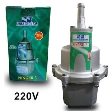 Bomba Submersa Poço/cisterna Ninger N3 220v