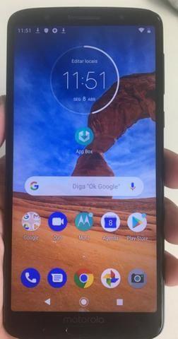 00fd921ad Smartphone Motorola Moto G6 Plus Xt1926 64gb Tela 5.9 Índigo ...