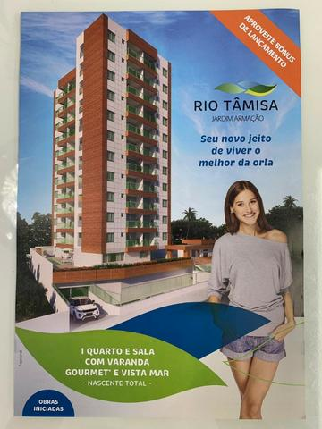 Lançamento Rio Tâmisa Jardim Armação-Quarto e Sala=Vista Mar Nascente