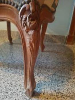 Cadeira estilo Luix XV - Foto 3
