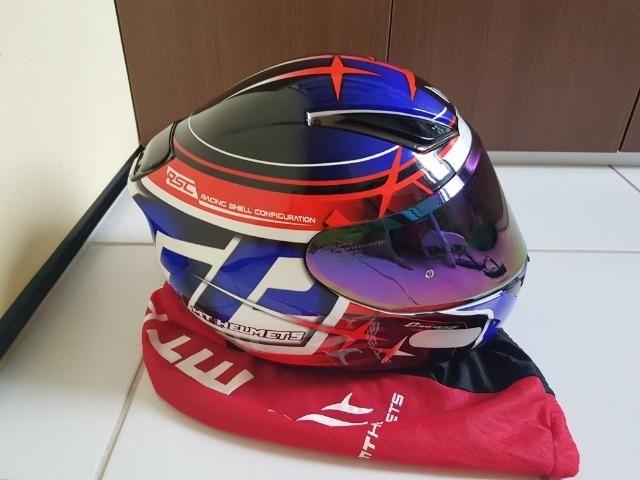 Capacete MT Helmets Revenger 58 + Viseira Camaleão - Foto 2
