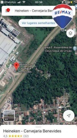 Terreno BR 316- Frente a Heineken com  87.000 m² - Região Metropolitana Belém/PA - Foto 18
