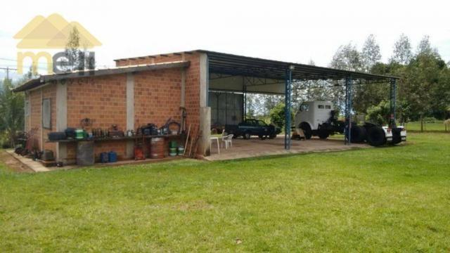 Sítio com 1 dormitório à venda, 96800 m² por R$ 590.000,00 - Zona Rural - Martinópolis/SP - Foto 3