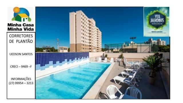 UED-94 - Apartamento 2 quartos com lazer completo em morada de laranjeiras - Foto 12