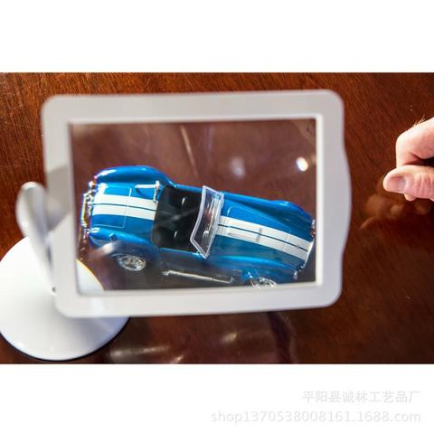 Lupa Articulada de Mesa com LED - Foto 4