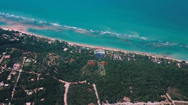 Terreno à venda, 2045 m² por r$ 368.276 - arraial d'ajuda - porto seguro/ba