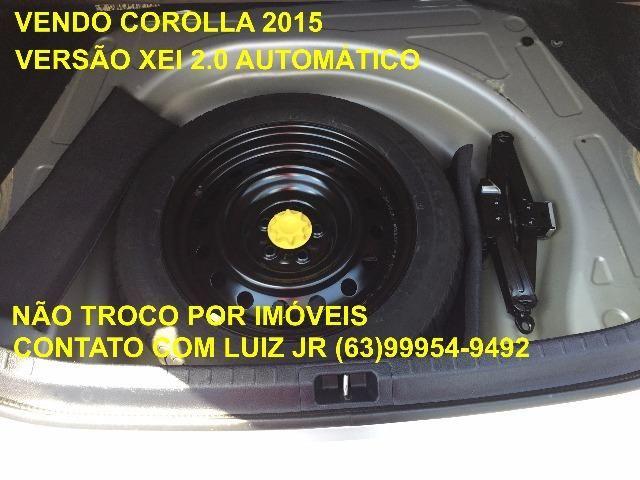 Corolla Xei 2015 - 04 pneus Michelin Zero - Documento pago - Estado de Zero - Foto 13