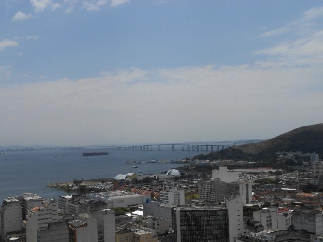 Excelente sala, Niterói Shopping, com linda vista para a Baía de Guanabara - Foto 3