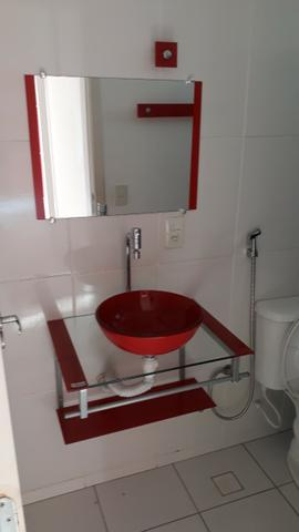 Excelente apt 2 qts com suite, closet e vg em Campo Grande - Foto 10