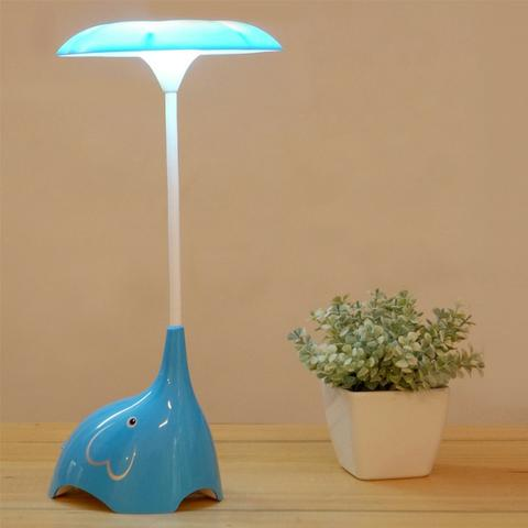 Luminária De Mesa USB Em formato de Elefante Touch Led - Foto 6