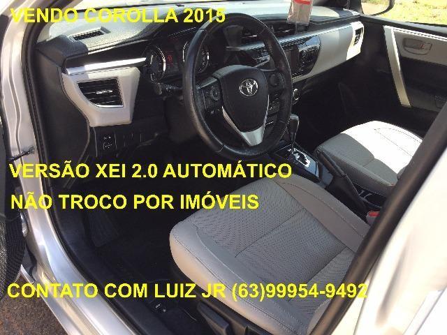 Corolla Xei 2015 - 04 pneus Michelin Zero - Documento pago - Estado de Zero - Foto 7