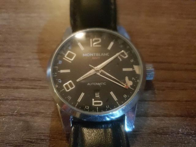 Relógio Montblanc Leia anúncio