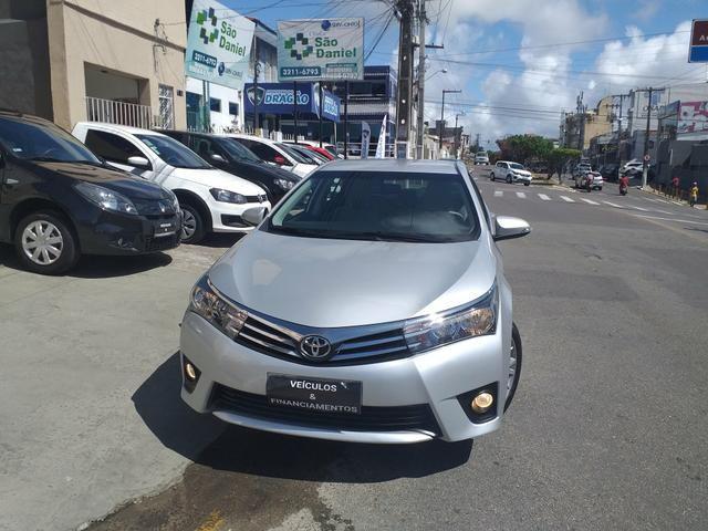 Corolla Xei 2.0 automático 2015/2015 o mais Novo de Sergipe - Foto 2