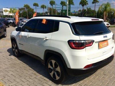 COMPASS 2018/2018 2.0 16V FLEX LONGITUDE AUTOMÁTICO - Foto 6