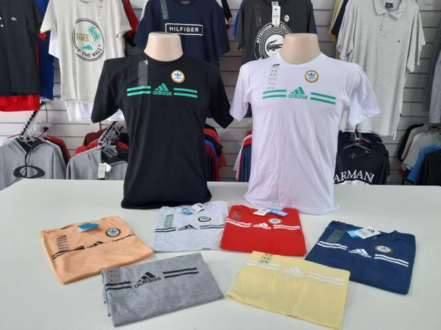 Camisas TShirt 100% algodão - Foto 2