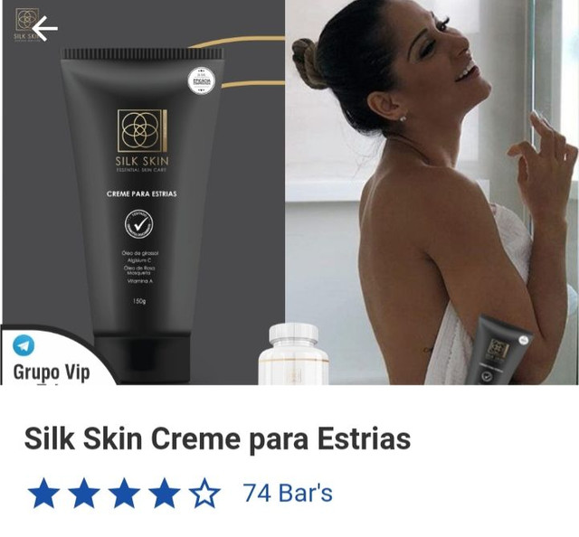 silk skin funciona