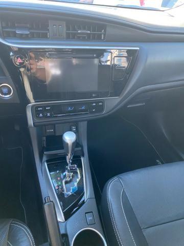 Toyota Corolla 2.0 XEI Cinza 2018/2019 - Novíssimo - Foto 9