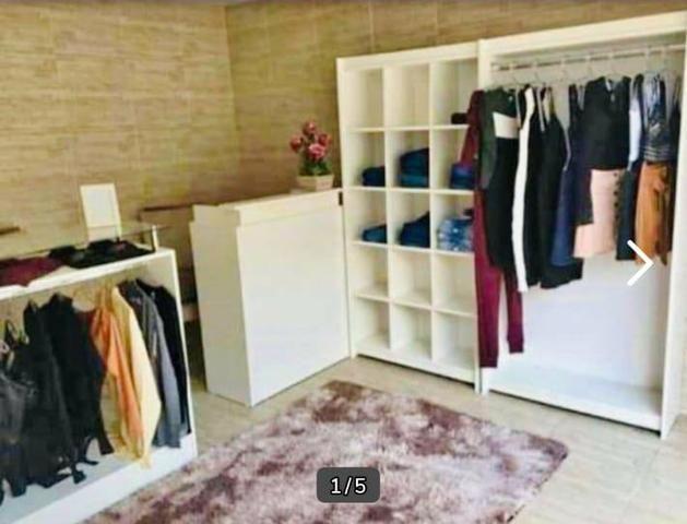 Monte sua loja com esse lindo kit completo com estantes e balcões 100%mdf