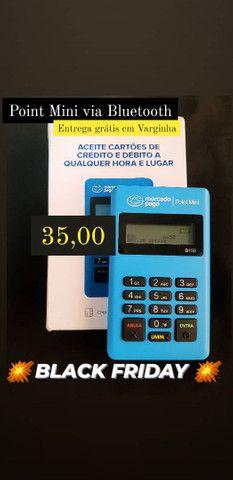 Máquininha de cartão via Bluetooth