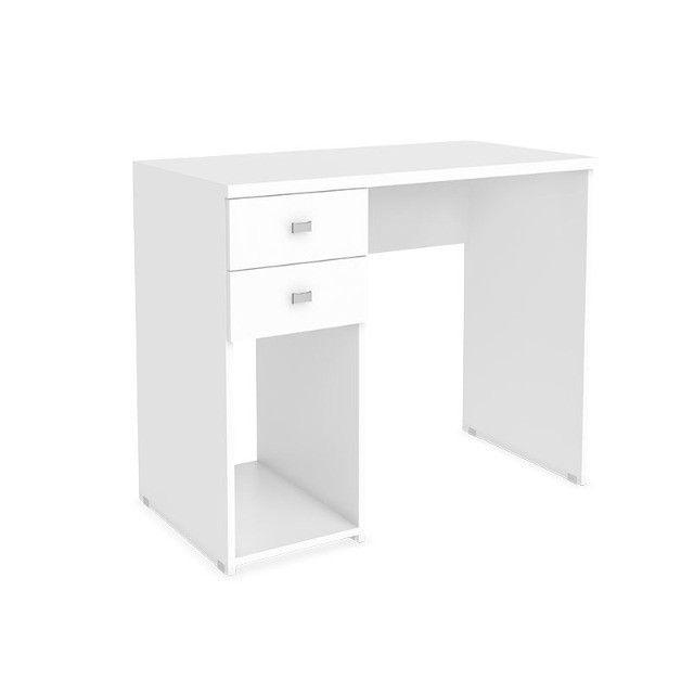 Mesa escrivaninha 2 gavetas - Foto 4