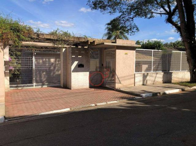 Casa com 5 dormitórios para alugar, 243 m² - Vila Santo Antônio - Cotia/SP