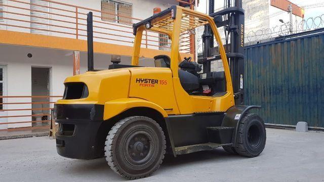 Empilhadeira Hyster FT capacidade 7,0 ton - Foto 5