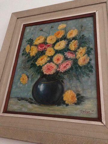 Quadro Médio Flores - Foto 2