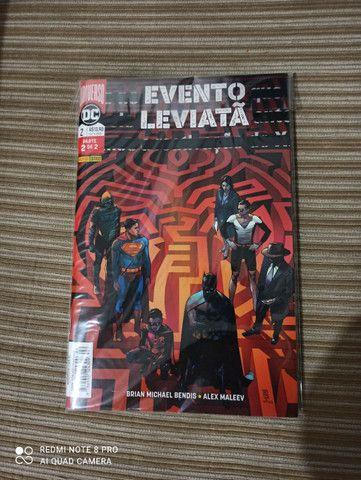 Superman HQs 1-18 + evento leviatã 1 e 2 - Foto 2