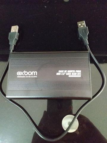 Hd Externo Samsung/Exbom 320gb - Foto 3