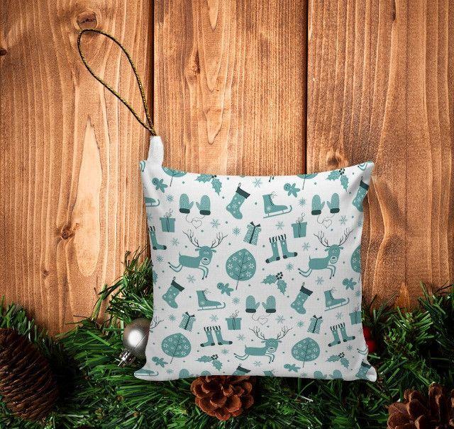 Enfeite De Natal (10unid) Pingente Para Árvore/ Lembrancinha