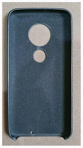 Case Para Motorola G7 Plus Em Couro  - Foto 4