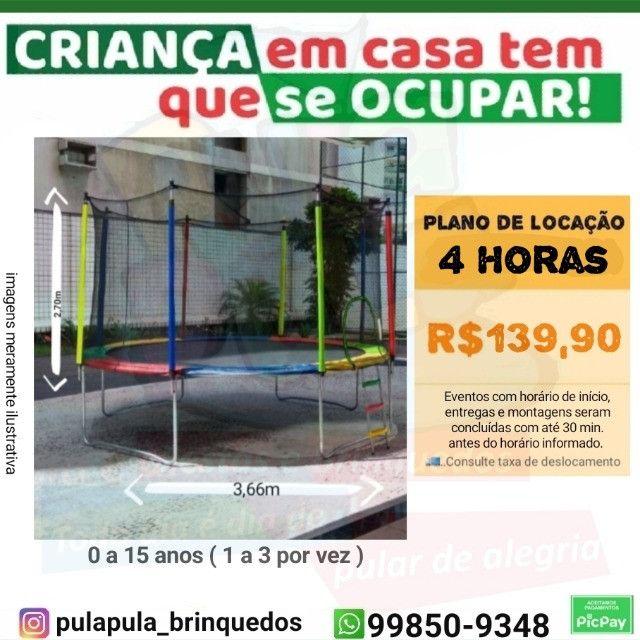 Promoção Aluguel - Tobogã Gigante + Pula Pula 3,66m - Foto 2
