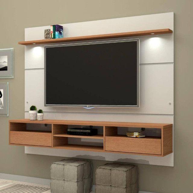 Home Suspenso Angra com Led e SEM espelho para TV até 60 Polegadas MiraRack - Foto 2