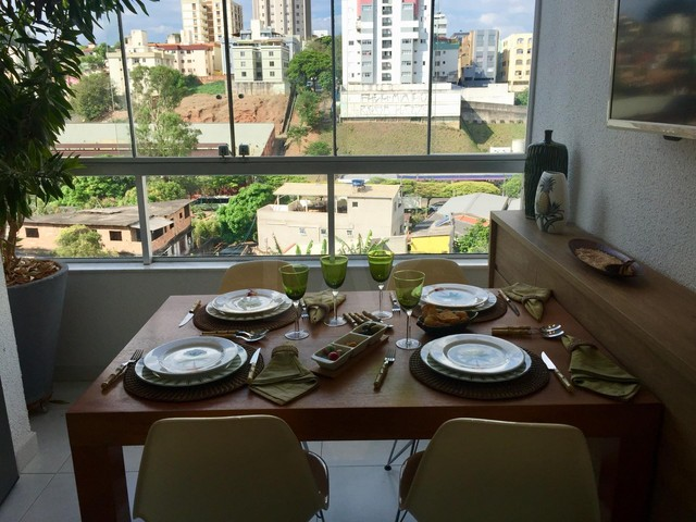 Apartamento à venda, 3 quartos, 1 suíte, 2 vagas, João Pinheiro - Belo Horizonte/MG