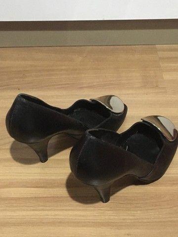 Sapato feminino salto alto preto  - Foto 3