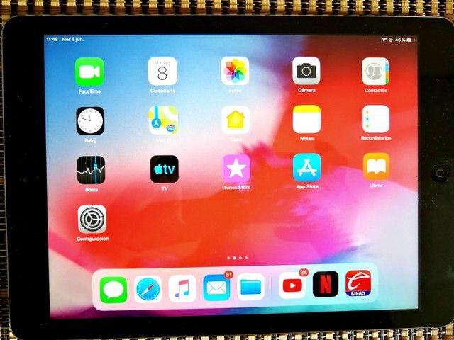 Apple iPad Air 16 gb na cor cinza  Wi-Fi