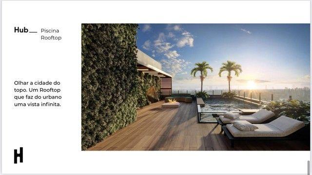 Compacto de luxo, 2 quartos com Varanda Gourmet, Ofurô e Churrasqueira. - Foto 11