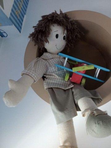 Kit quarto de bebê- menino (8 itens) - Foto 2