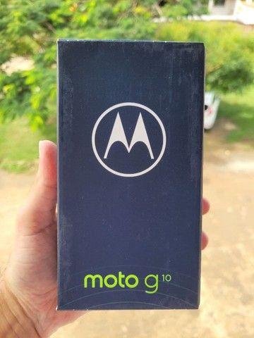 Smartphone Motorola Moto G10 64GB, 4GB Ram, Tela 6,5, Lacrado, Garantia e Nota Fiscal - Foto 2