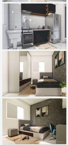 Lançamento aptos de 2 quartos 50m² com sacada e elevador - Foto 8
