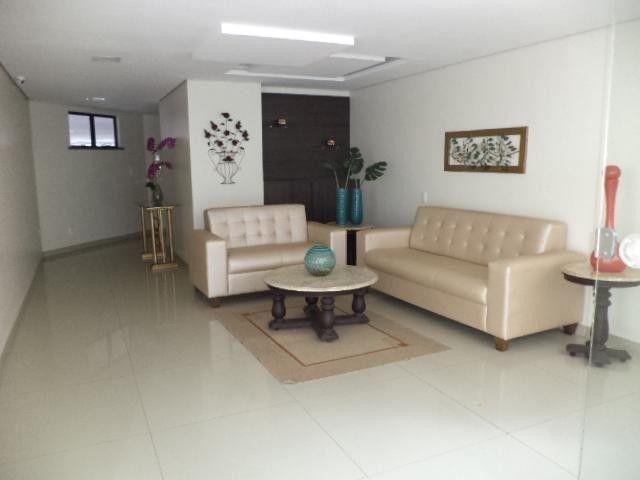 Apartamento de 118m² com 2 suítes, wc, dce, andar alto. Fez uma reforma aumentando a sala  - Foto 6
