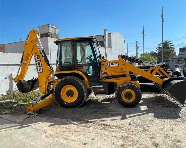 Trator retro escavadeira JCB 3C  - Foto 6