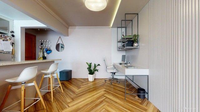 Apartamento de 101m², com 2 dormitórios/quartos, 1 suite com closet, 2 vagas cobertas - Jd - Foto 13