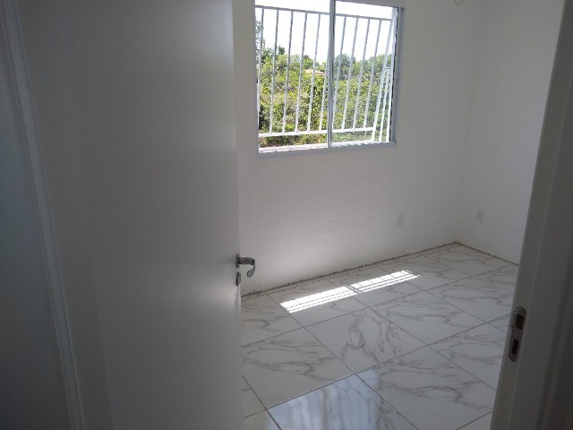 Apartamento novo 2/4   térreo porcelanato - Foto 3