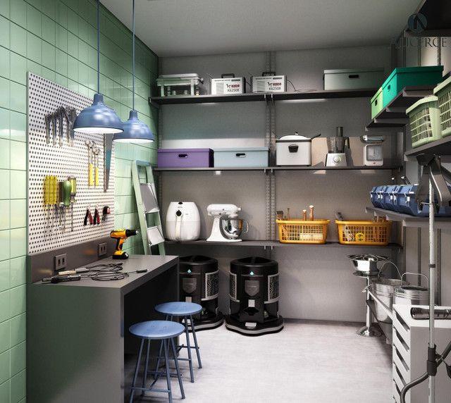 Apartamento à venda com 1 dormitórios em Balneário, Florianópolis cod:2610 - Foto 14