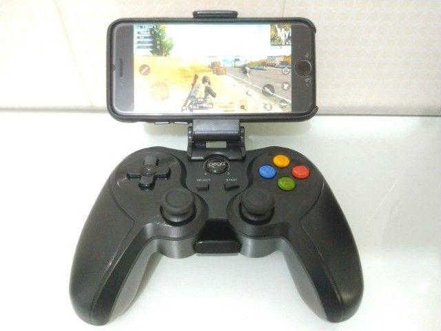 Controle Joystick Ípega GP-9078 Bluetooth - Foto 4