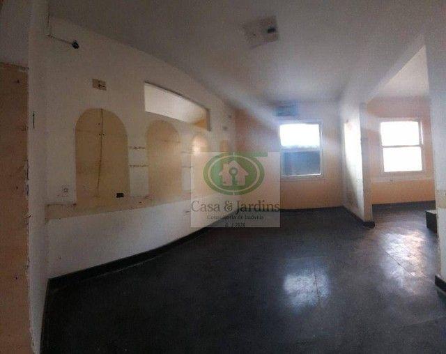 Casa para alugar, 200 m² por R$ 12.500,00/mês - Gonzaga - Santos/SP